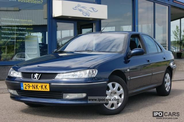2012 peugeot 406 2 0 hdi xr car photo and specs. Black Bedroom Furniture Sets. Home Design Ideas