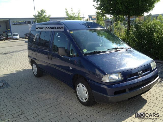 2003 peugeot expert hdi 110 comfort 3 seats air car. Black Bedroom Furniture Sets. Home Design Ideas
