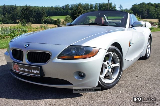 2004 BMW  Z4 roadster2.2i * 1.Hand * air * leather * Warranty Cabrio / roadster Used vehicle photo