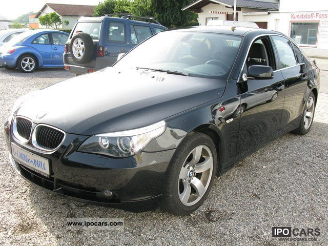 2003 BMW  1.Hand 525i / Xenon / Navi-Prof. / PDC / cruise control Limousine Used vehicle photo