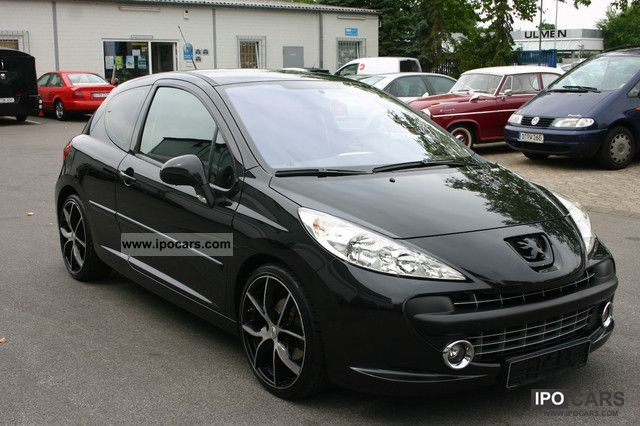 2006 peugeot 207 110 sports car photo and specs. Black Bedroom Furniture Sets. Home Design Ideas