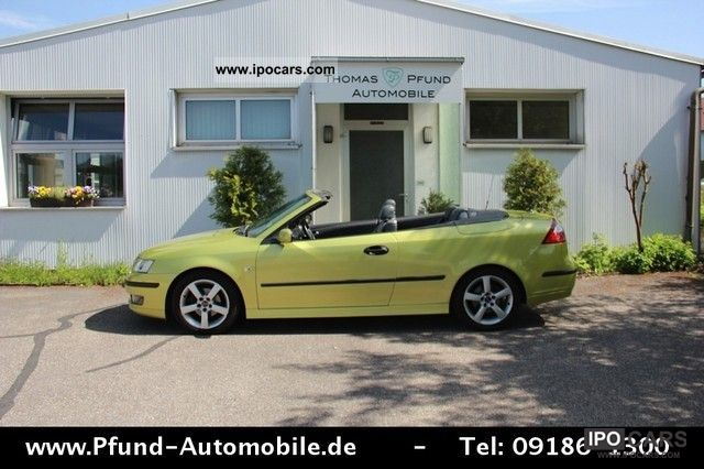 2004 Saab  9-3 1.8 T Convertible Vector - 1.Hand - Xenon - Leather Cabrio / roadster Used vehicle photo