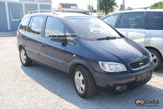 2001 opel zafira 2 0 dti dpf edition 2000 car photo and specs. Black Bedroom Furniture Sets. Home Design Ideas