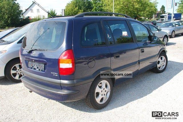 2001 Opel Zafira 2 0 Dti Dpf Edition 2000 Car