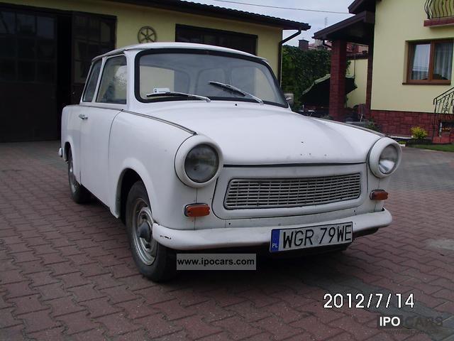 Trabant  1971r. Zabytkowy, na chodzie 1971 Vintage, Classic and Old Cars photo