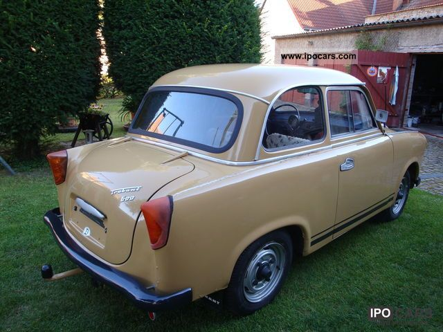 Trabant  600 1963 Vintage, Classic and Old Cars photo