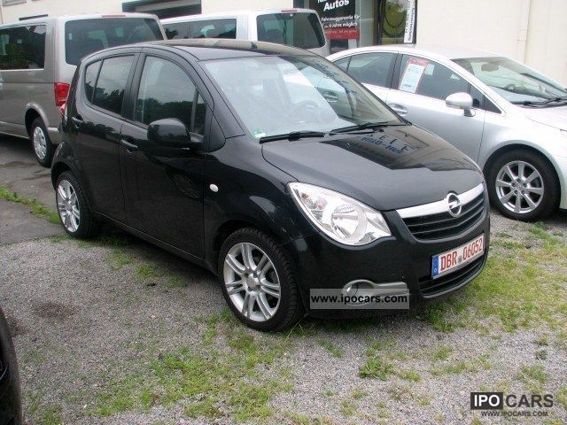 2009 opel agila 1 2 automatic edition full leather car photo and specs. Black Bedroom Furniture Sets. Home Design Ideas