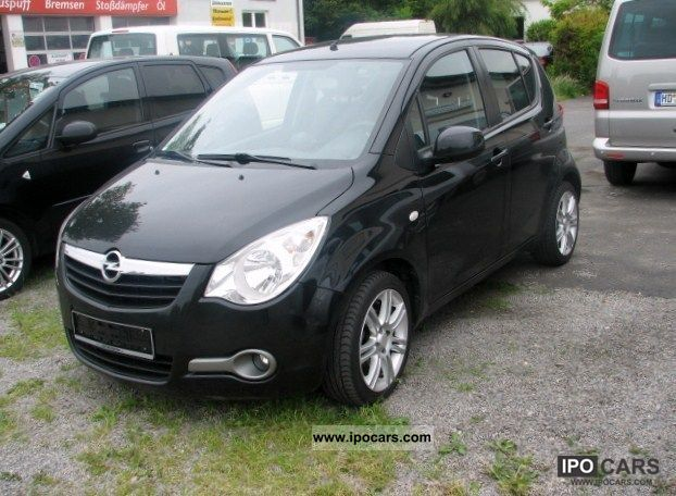2009 opel agila 1 2 automatic edition full leather car. Black Bedroom Furniture Sets. Home Design Ideas