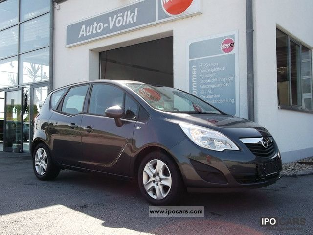 2012 opel meriva 1 4 ecoflex edition m automatic climate control car photo and specs. Black Bedroom Furniture Sets. Home Design Ideas