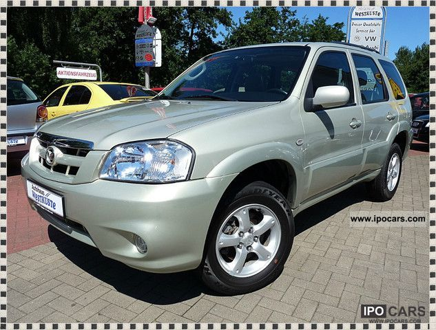 2006 mazda tribute 4x4 adventure comfort car photo and specs. Black Bedroom Furniture Sets. Home Design Ideas