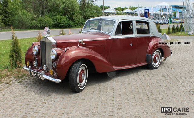 Rolls Royce  Silver Dawn 1952 Vintage, Classic and Old Cars photo