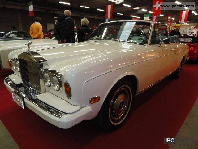 Rolls Royce  Corniche 1973 Vintage, Classic and Old Cars photo