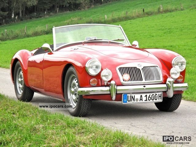 MG  A 1600 Mk I De Luxe 1959 Vintage, Classic and Old Cars photo