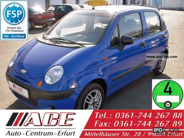 2003 Chevrolet  Matiz Air Timing new green sticker Small Car Used vehicle photo