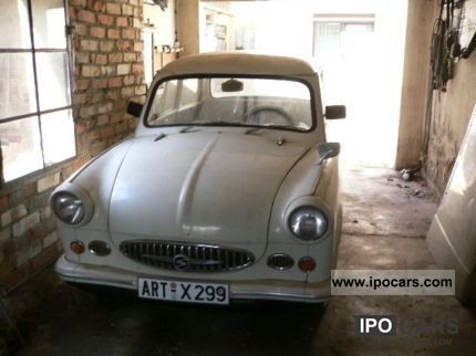 Trabant  Oldtimer 500 Bj.1958 1958 Vintage, Classic and Old Cars photo