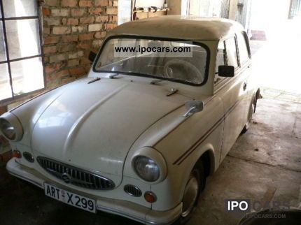 1958 trabant oldtimer 500 car photo and specs. Black Bedroom Furniture Sets. Home Design Ideas