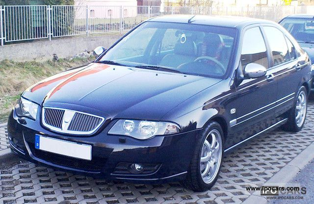 2012 Rover  45 1.8 * Celeste VOLLAUSSTATTUNG * Tuning Limousine Used vehicle photo