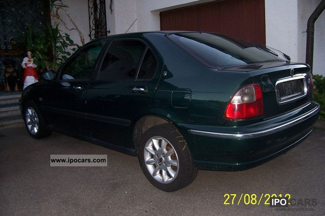 2000 rover 45 1 8 car photo and specs. Black Bedroom Furniture Sets. Home Design Ideas