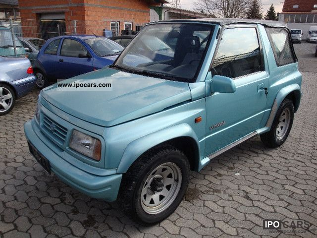 1997 Suzuki Vitara Cabrio ElFH Tuv New Perfect Condition Off Road Vehicle Pickup Truck