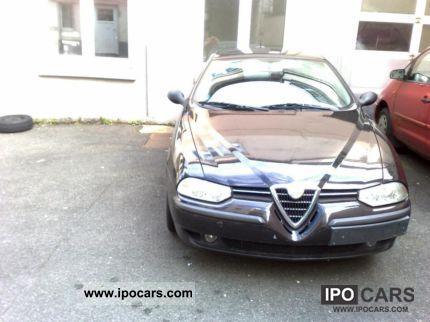 2002 Alfa Romeo  156 Black BJ: 2002 Tüv 2013 1 .. Limousine Used vehicle photo
