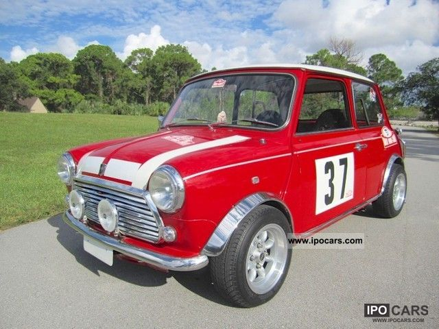 Austin  Mini Cooper GT 1974 Vintage, Classic and Old Cars photo