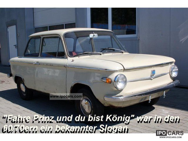 NSU  Prinz 4 L - Original Pappbrief 1966 Vintage, Classic and Old Cars photo