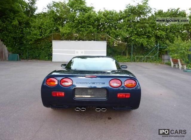 2000 Corvette C5 Targa Europe Car Photo And Specs