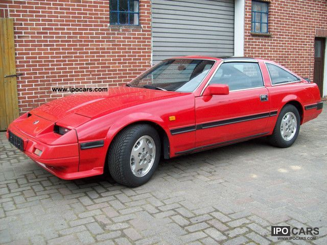 1986 nissan 300 zx car photo and specs. Black Bedroom Furniture Sets. Home Design Ideas