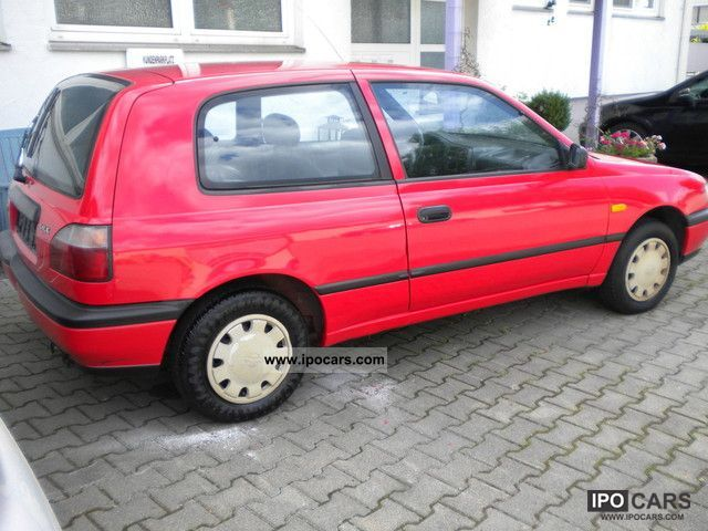 1994 Nissan Sunny 1.4 LX Power Steering - Car Photo and Specs
