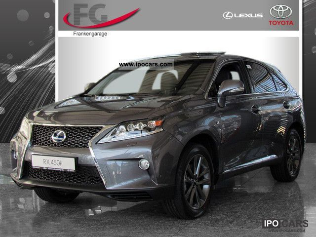 Lexus  RX 450h F-Sport SSD SHZ PDC LEATHER AIR NAVI 2012 Hybrid Cars photo