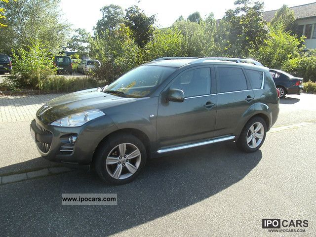 2009 Peugeot  4007 HDI FAP 7-seater Platinum Off-road Vehicle/Pickup Truck Used vehicle photo