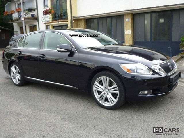 Lexus  GS 450h Luxury * LEATHER * NAVI * REVERSING CAMERA * XENON * 2010 Hybrid Cars photo