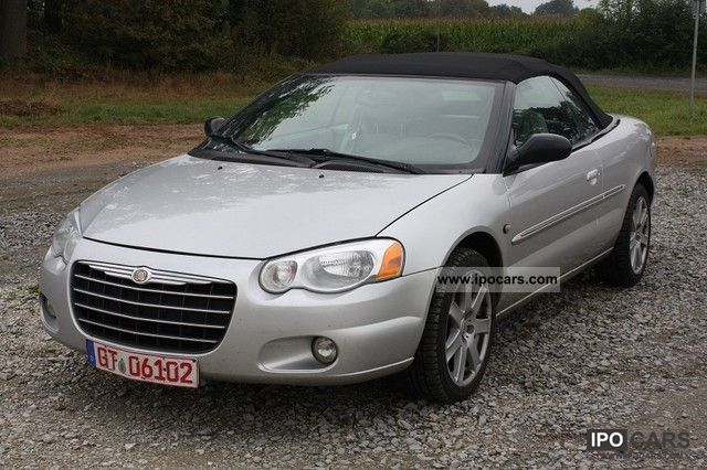 2005 Chrysler  Sebring Cabrio 2.7 Auto + Air + Leather + VAT Cabrio / roadster Used vehicle photo