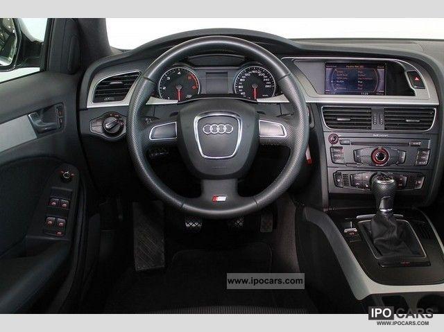 2009 Audi A4 Avant S-Line 2.0 TDI DPF S-6-speed Xenon Lede - Car ...