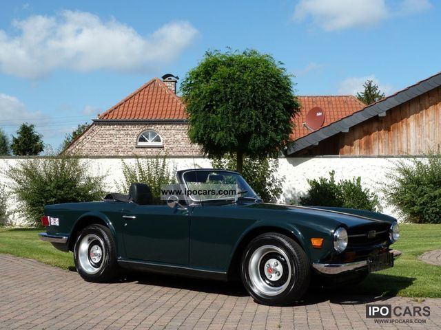 Triumph  Triumph TR6 H-plates / tax. 1968 Vintage, Classic and Old Cars photo