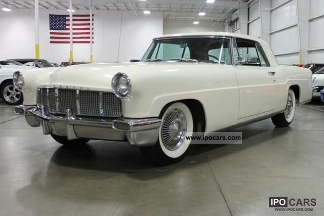 1957 Lincoln  Continental Mark II (U.S. price) Sports car/Coupe Classic Vehicle			(business photo