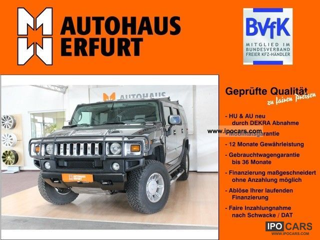 2004 GMC  ! Hummer H2 with wheeled category B! Off-road Vehicle/Pickup Truck Used vehicle photo