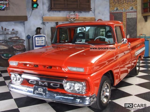 GMC  Custom Pickup 1962 Vintage, Classic and Old Cars photo