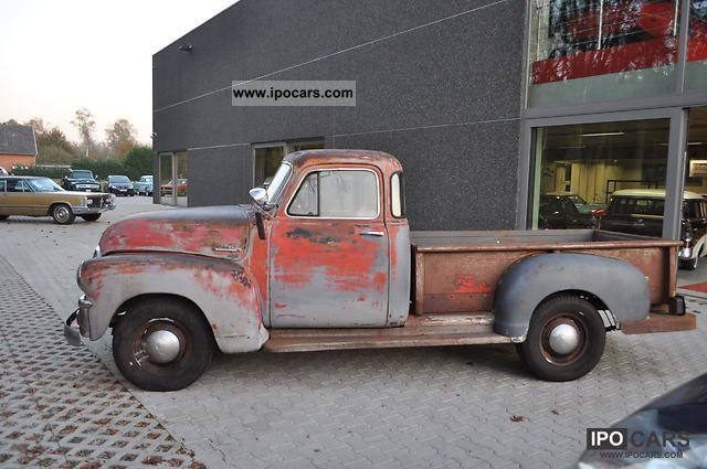 GMC  step side pickup 1955 Vintage, Classic and Old Cars photo