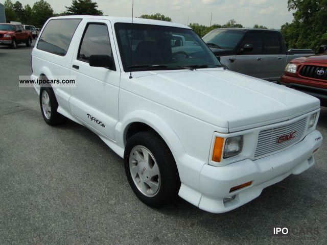 1993 Gmc Jimmy Car Photo And Specs