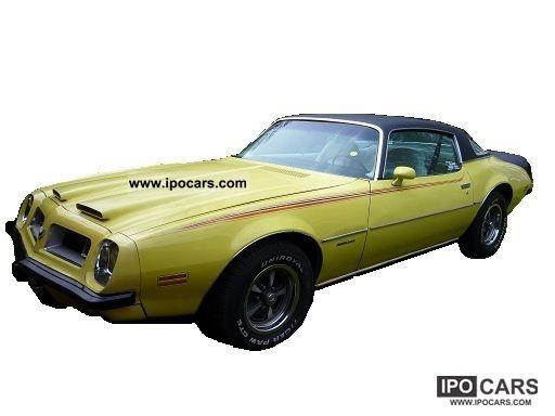 Pontiac  Firebird 1975 Vintage, Classic and Old Cars photo