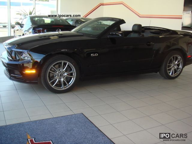 2012 Ford 2013 Mustang Gt Premium Convertible Brembo Car Photo And