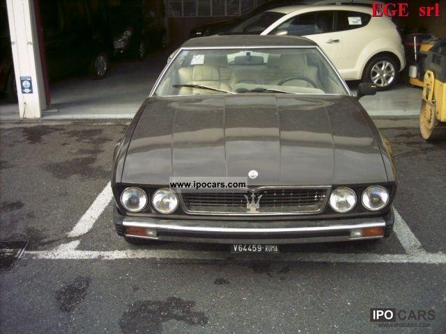1979 Maserati  Kyalami Coupe 4900 Limousine Used vehicle photo
