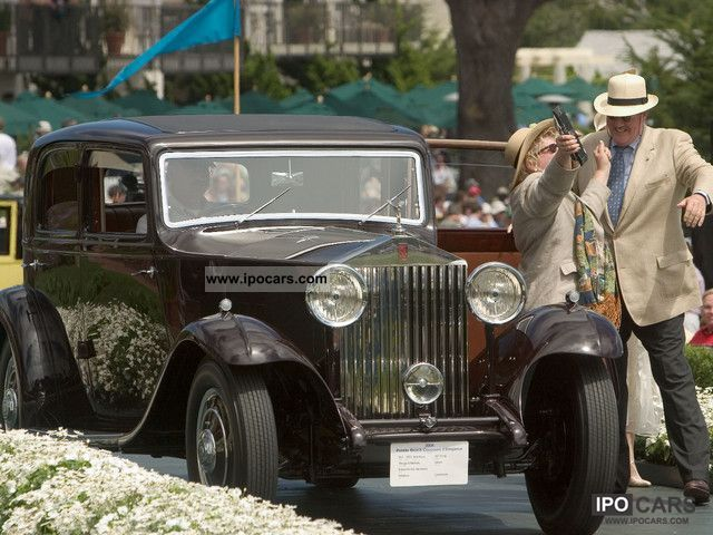 Rolls Royce  20/25 HP Saloon Thrupp & Maberly, Pebble Beach 1932 Vintage, Classic and Old Cars photo