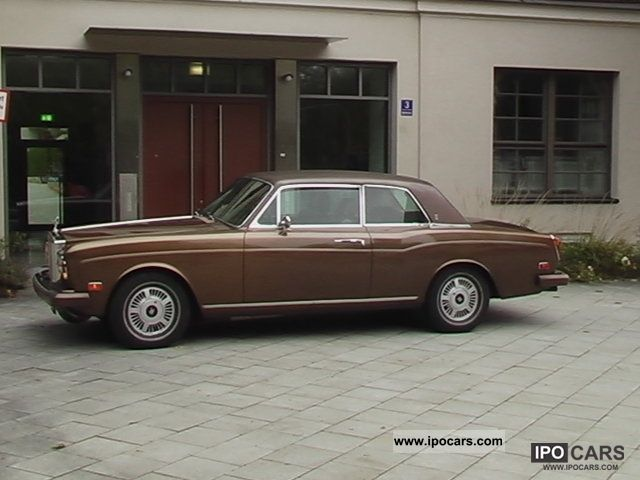 Rolls Royce  Corniche Coupe 1974 Vintage, Classic and Old Cars photo