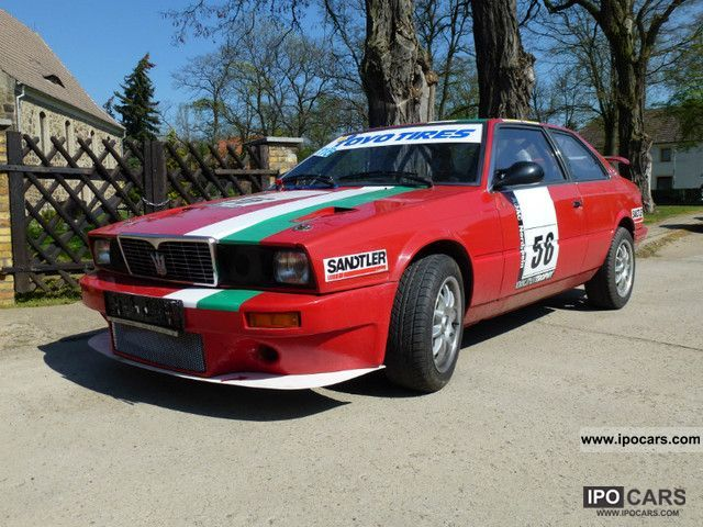 Maserati  Rally racing or 2.5 V6 1981 Race Cars photo