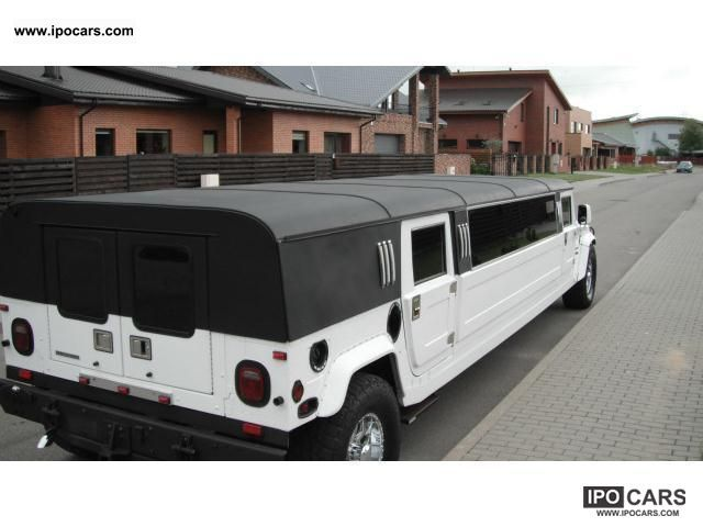 2012 Hummer H1 H1 Stretch LIMO 8.5 m Prom Party Event ...