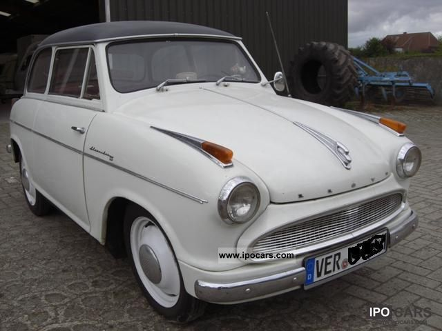 1958 Borgward  Lloyd LP 600 Alexander TS Bj.1958 Limousine Classic Vehicle photo