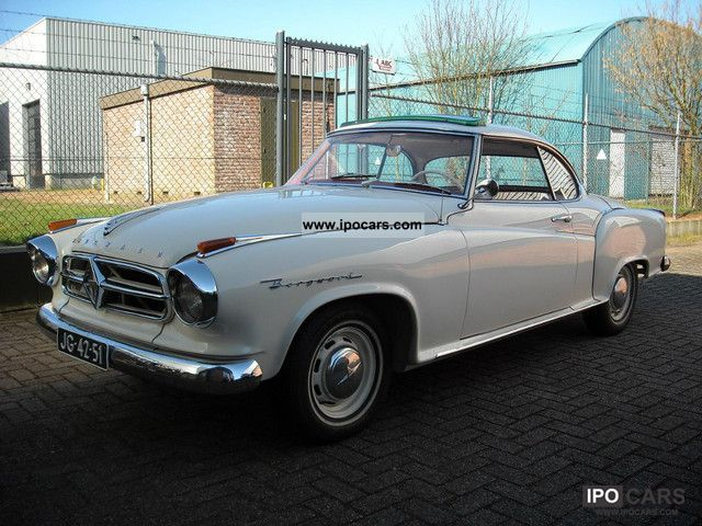 Borgward  Isabella Coupe 1962 Vintage, Classic and Old Cars photo