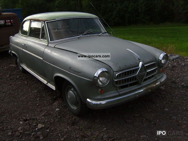 Borgward  Isabella 1956 Vintage, Classic and Old Cars photo